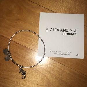 Seahorse Alex and ani bracelet